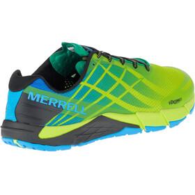 Merrell Bare Access Flex Shoes Men Acid Cyan